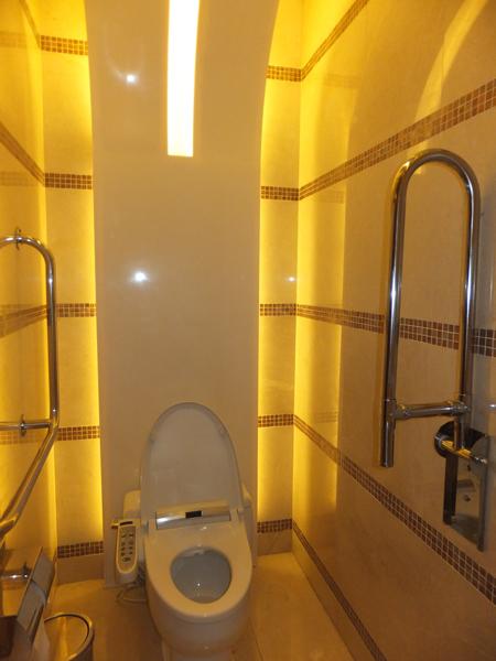 アンバダサーホテル おしゃれガール必見綺麗なトイレにしてみ